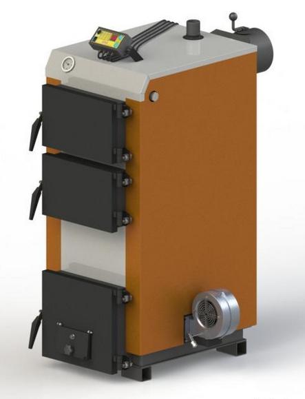 Твердотопливный котел KOTLANT КГ 16 с автоматикой и вентилятором