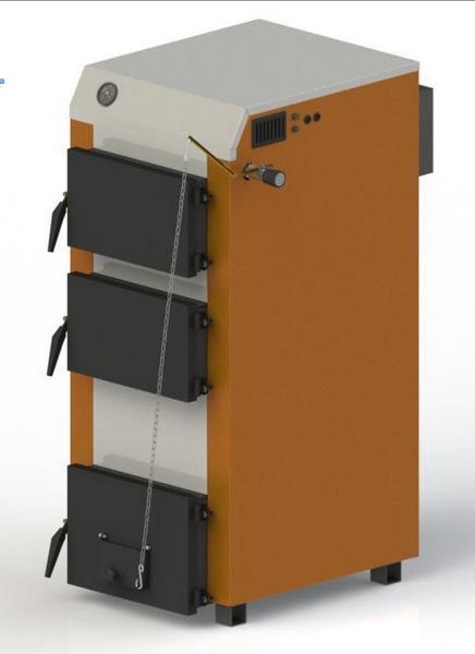 Твердотопливный котел KOTLANT КГ 18 с механическим регулятором тяги