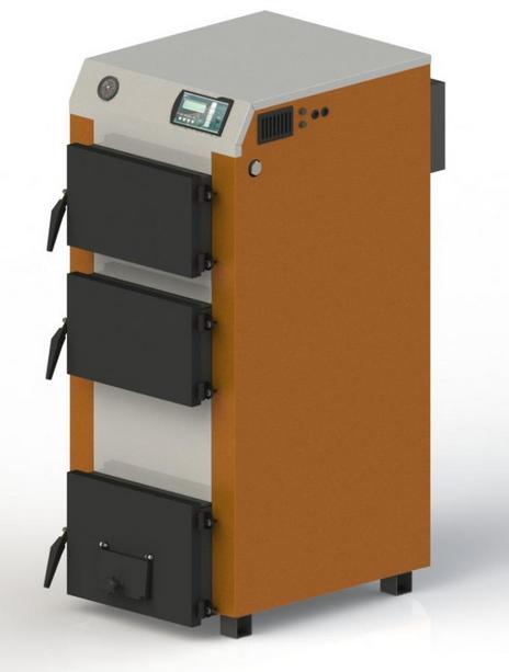 Твердотопливный котел KOTLANT КГ 25 с автоматикой и вентилятором