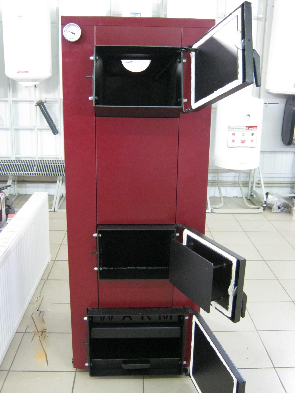 Твердотопливный котел ВАРМ 40 кВт