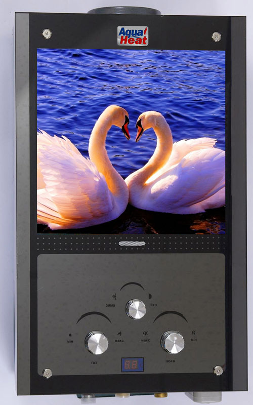 Газовая колонка AQUAHEAT ВПГ-18 Lebedi 10L Lcd