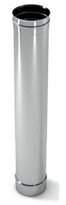 Труба дымоходная одностенная (0,8мм*0,5м)