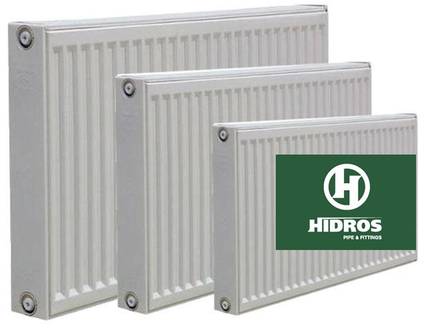 Радиатор HIDROS 22 тип 500/400-2000 (нижнее подкл)