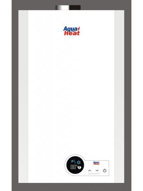 Газовая колонка AQUAHEAT ВПГ-18 turbo 10L Lcd (без модул)