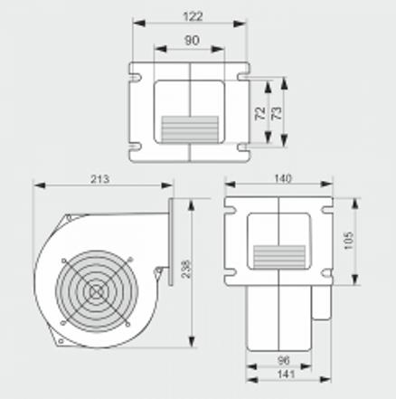 Вентилятор WPA 145